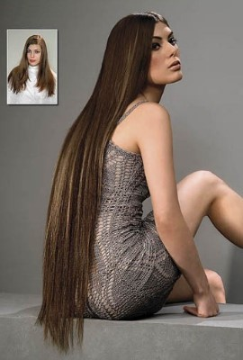 Наращивание волос в сочи